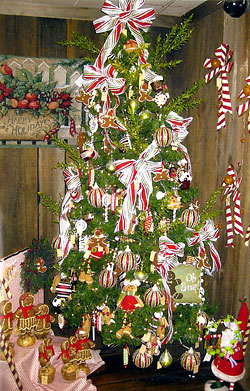 Amazing ... Ornaments, Candy Canes, Wreaths, And More At The Christmas Store And  Gift Shop Photo